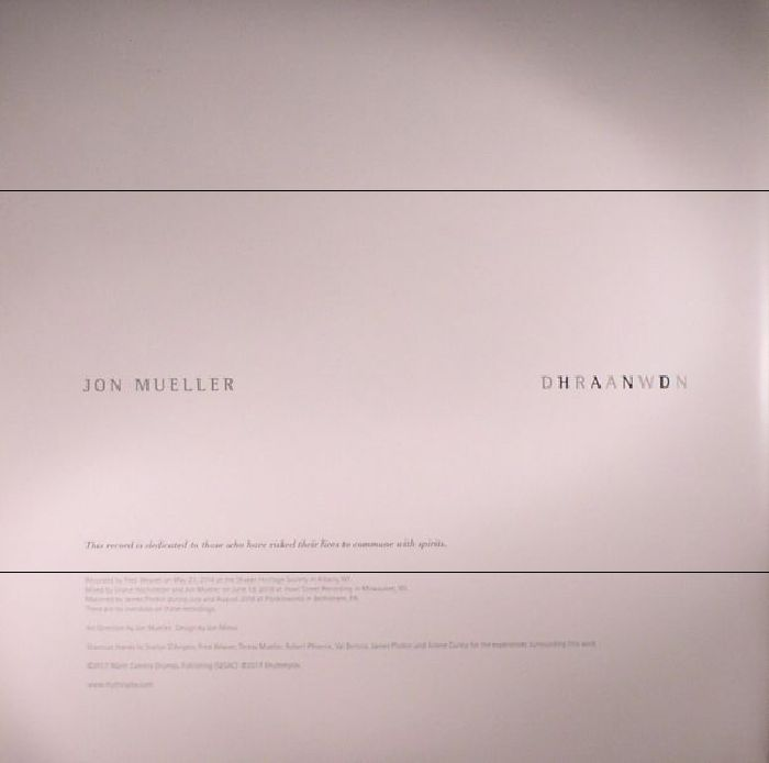 MUELLER, Jon - Dhraanwdn