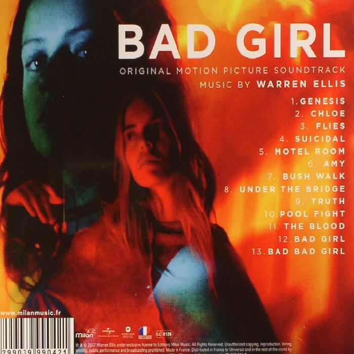 ELLIS, Warren - Bad Girl (Soundtrack)