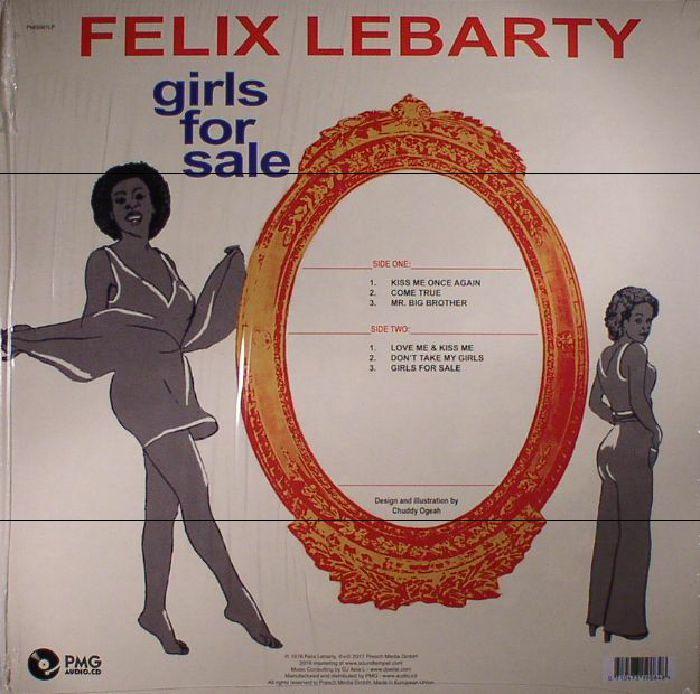 LEBARTY, Felix - Girls For Sale (reissue)