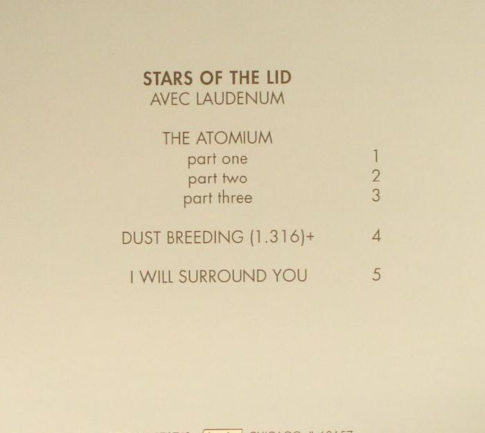 STARS OF THE LID - Avec Laudenum