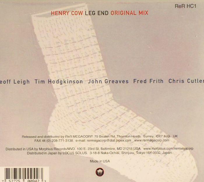 HENRY COW - Leg End