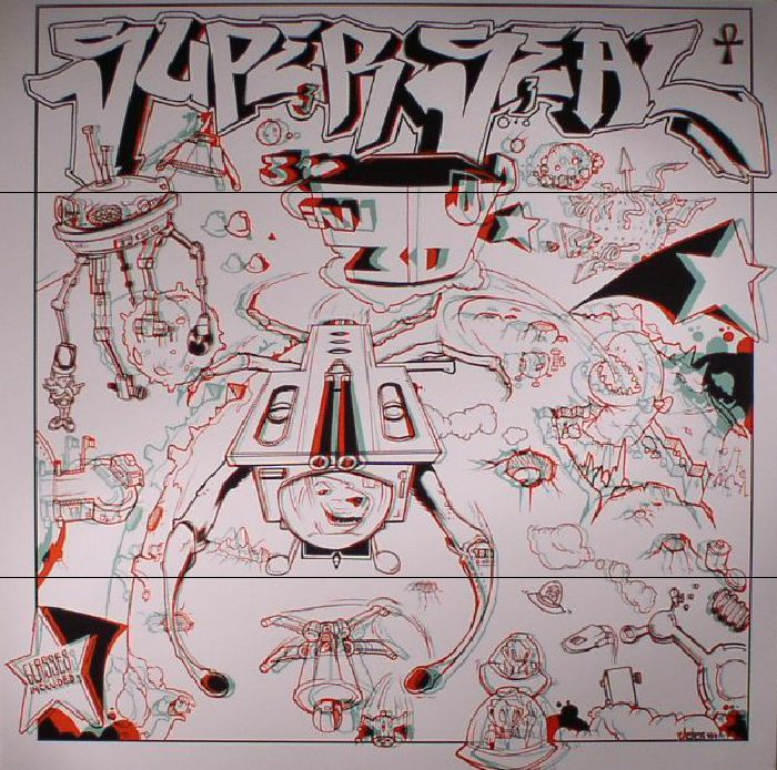 SKRATCHY SEAL aka DJ QBERT - Superseal 3D