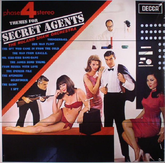 ROLAND SHAW ORCHESTRA, The - Themes For Secret Agents