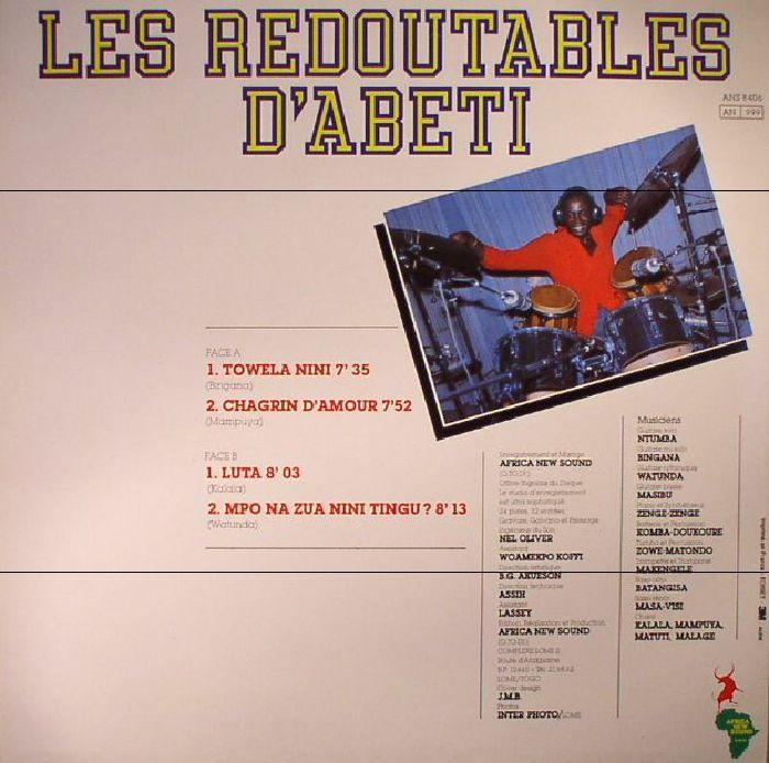 LES REDOUTABLES D'ABETI - Towela Nini (reissue)