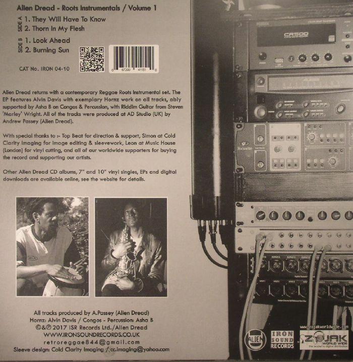 ALIEN DREAD/ALVIN DAVIS/ASHA B - Roots Instrumentals Vol 1