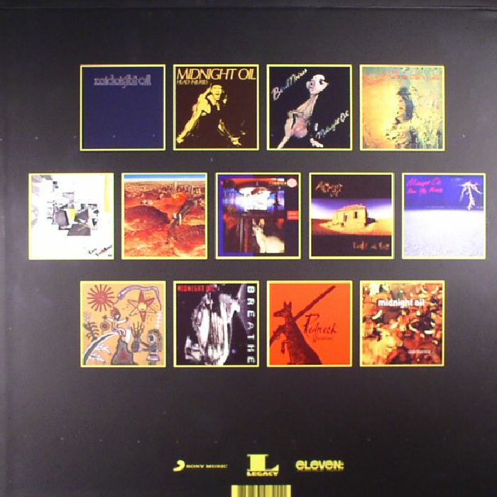MIDNIGHT OIL - Midnight Oil: The Complete Vinyl Box Set