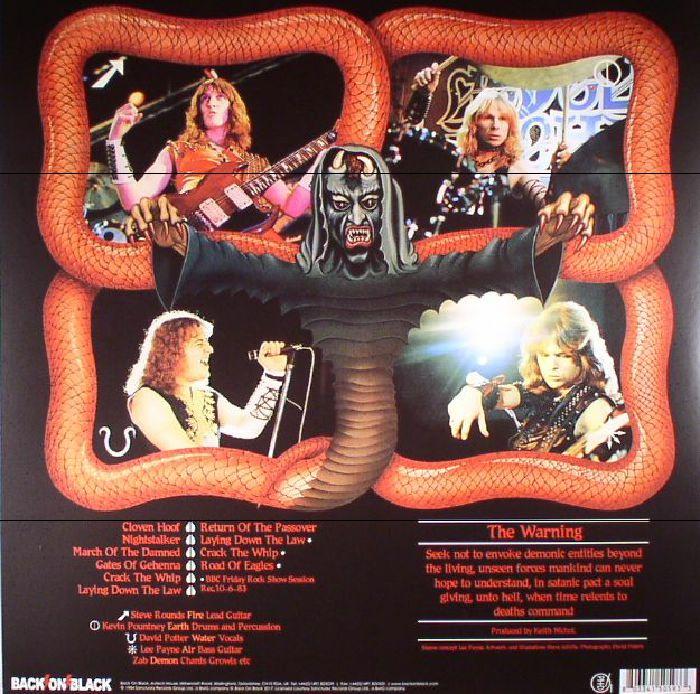 CLOVEN HOOF - Cloven Hoof (reissue)