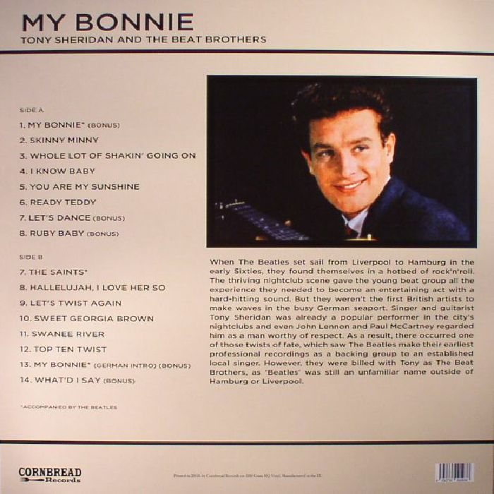 SHERIDAN, Tony/THE BEAT BROTHERS - My Bonnie (reissue)