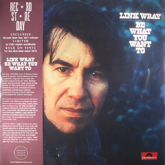 WRAY, Link - Be What You Want To (Record Store Day 2017)