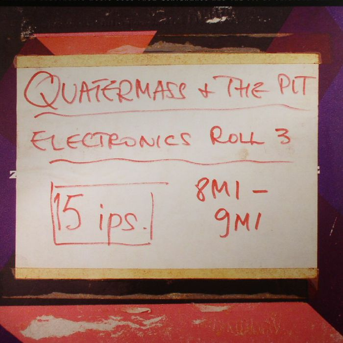 CARY, Tristram - Quatermass & The Pit: Electronic Music Cues (Record Store Day 2017)