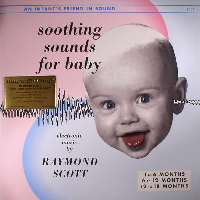 SCOTT, Raymond - Soothing Sounds For Baby Vol 1-3 (reissue)