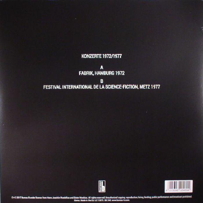 CLUSTER - Konzerte 1972/1977
