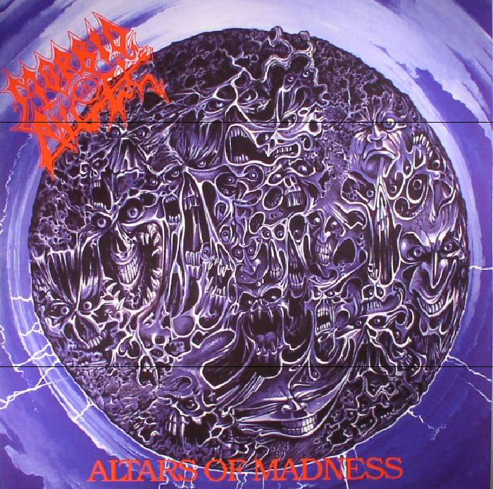 MORBID ANGEL - Altars Of Madness (reissue)