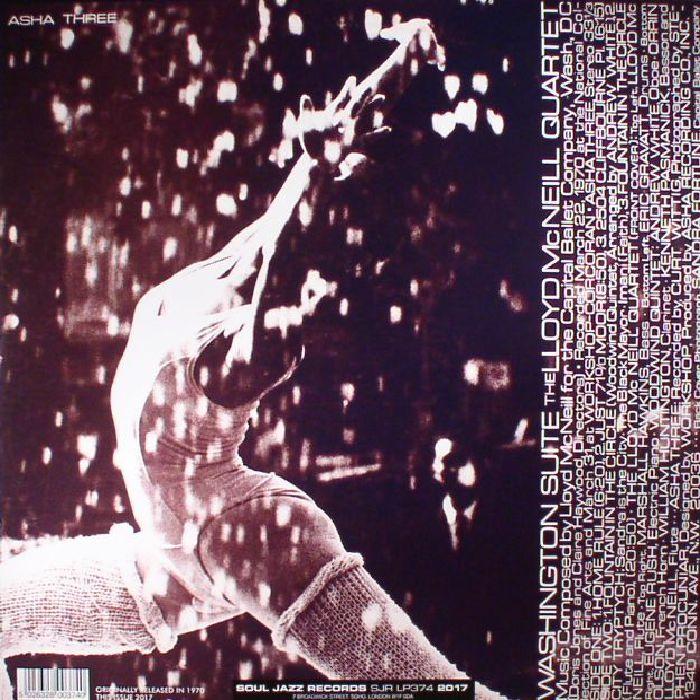 LLOYD McNEILL QUARTET, The - Washington Suite (reissue)