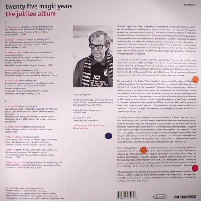 VARIOUS - Twenty Five Magic Years: The Jubilee Album