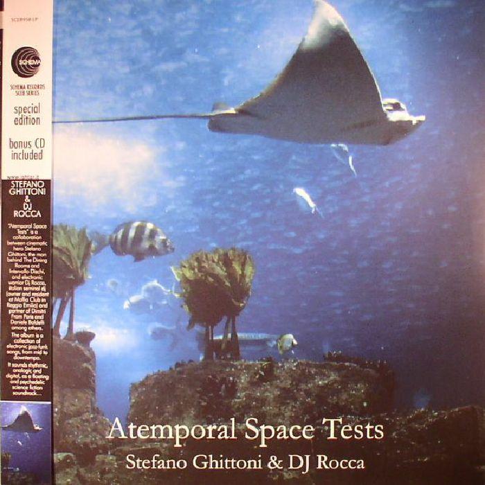GHITTONI, Stefano/DJ ROCCA - Atemporal Space Tests