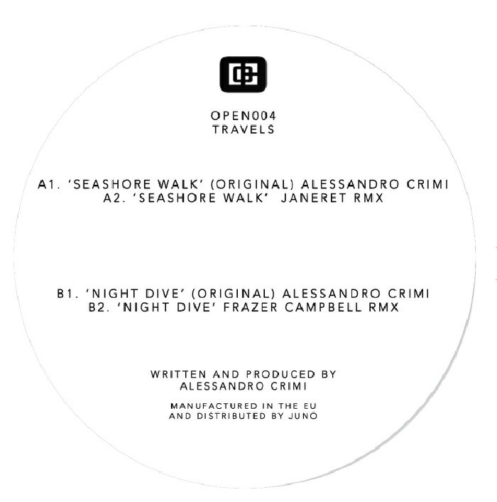 CRIMI, Alessandro - Travels (feat Janeret, Frazer Campbell mixes)