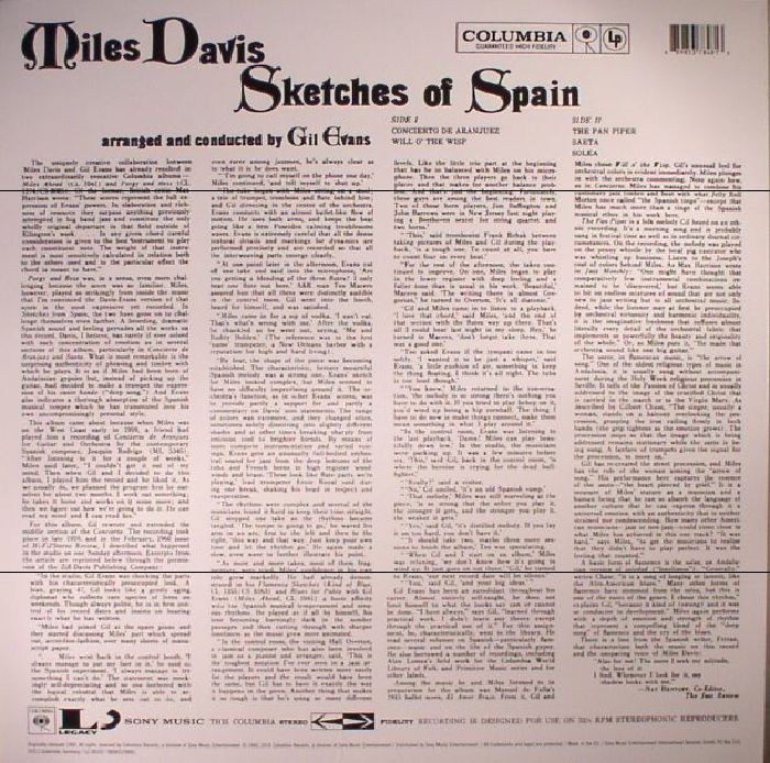 DAVIS, Miles - Sketches Of Spain (reissue)
