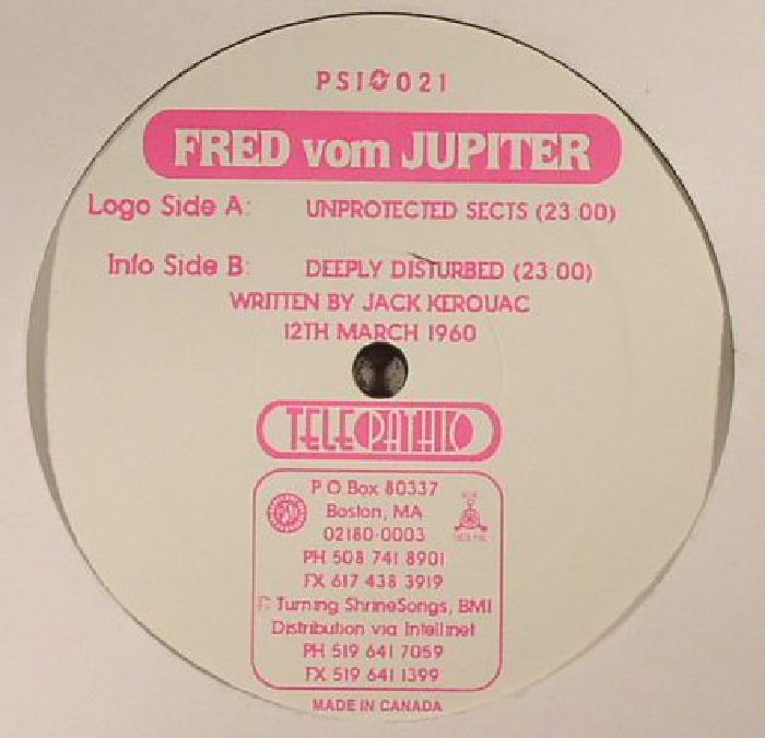 VOM JUPITER, Fred - Unprotected Sects (warehouse find)