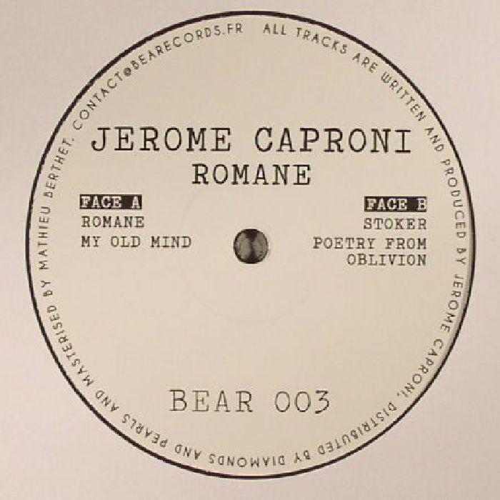 CAPRONI, Jerome - Romane