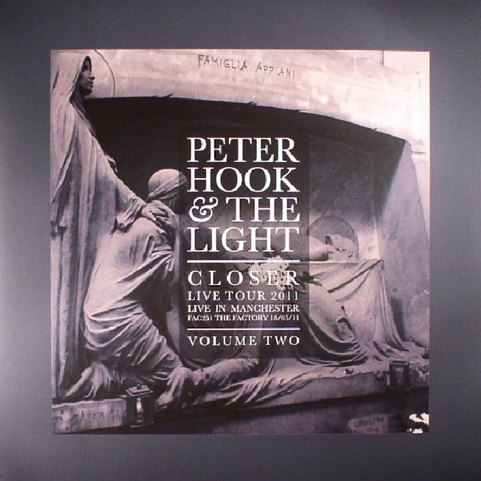 HOOK, Peter & THE LIGHT - Closer Live Tour 2011: Live In Manchester Volume 2 (Record Store Day 2017)
