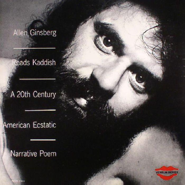 GINSBERG, Allen - Reads Kaddish: A 20th Century Ecstatic Narrative Poem