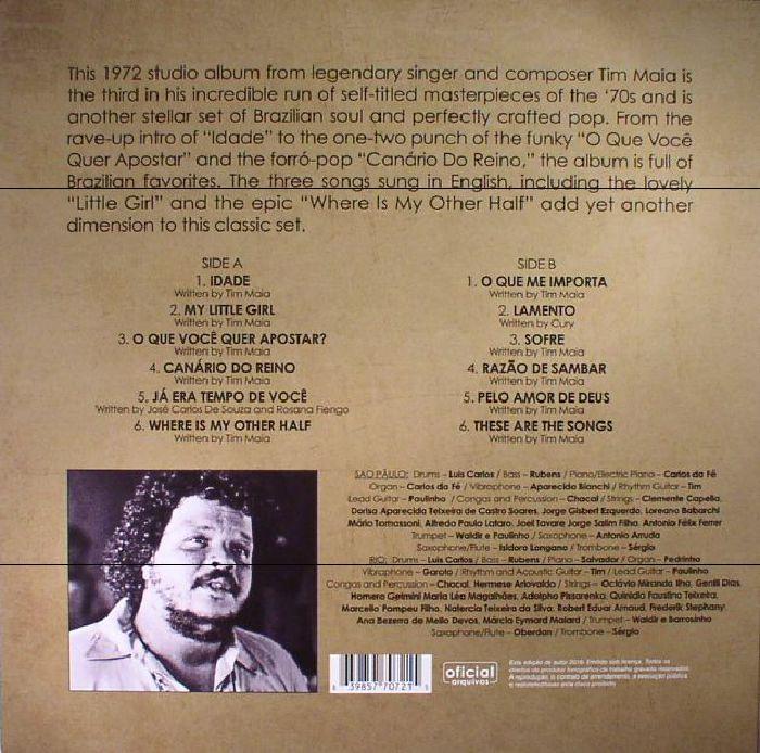 MAIA, Tim - 1972 (reissue)