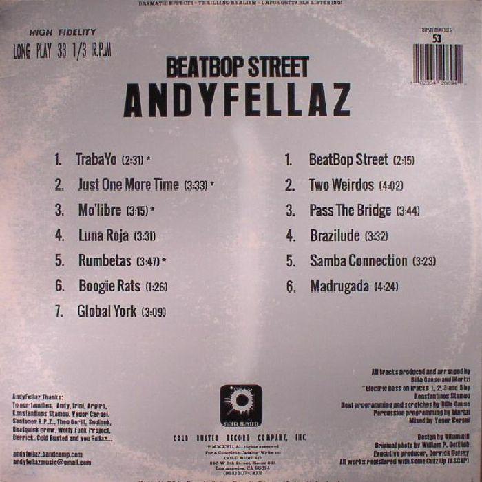 ANDYFELLAZ - Beatbop Street