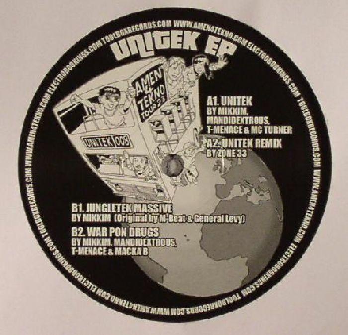 MIKKIM/MANDIDEXTROUS/T MENACE/MC TURNER/ZONE 33/MACKA B - Unitek EP