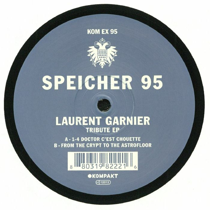 GARNIER, Laurent - Tribute EP