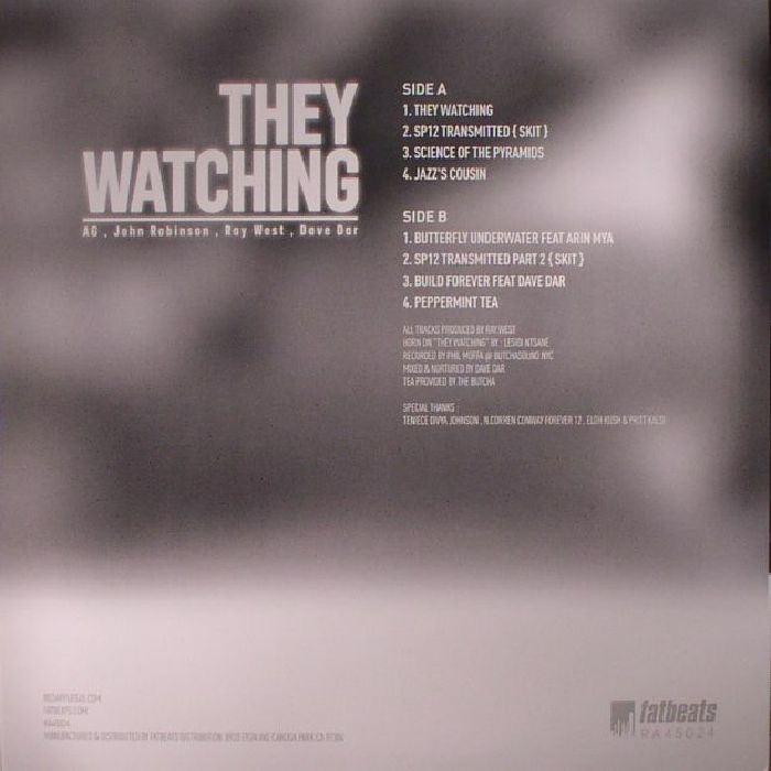 AG/JOHN ROBINSON/RAY WEST/DAVE DAR - They Watching