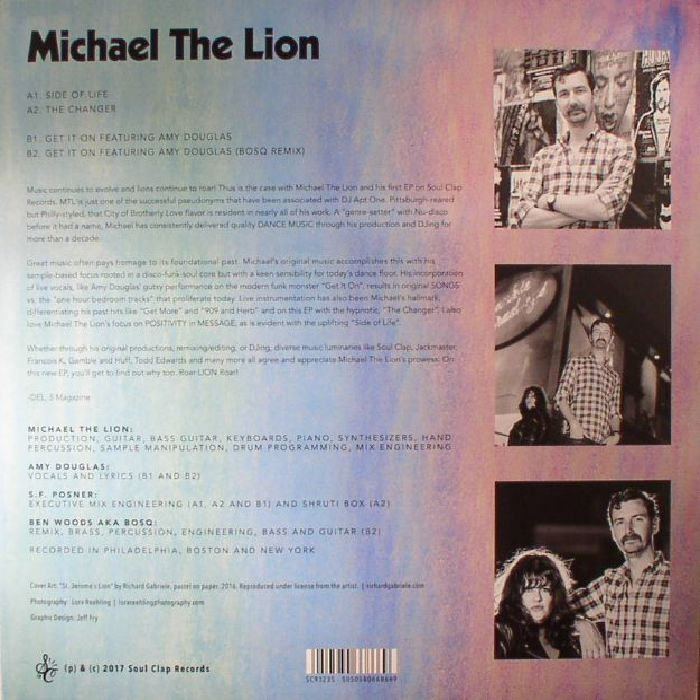 MICHAEL THE LION - Michael The Lion
