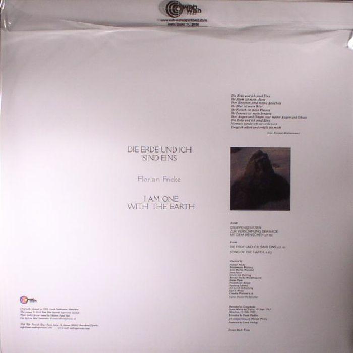 FRICKE, Florian - Die Erde Und Ich Sind Eins (reissue)