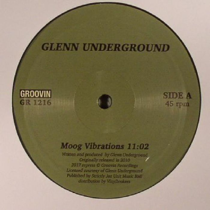 UNDERGROUND, Glenn - Moog Vibrations (reissue)