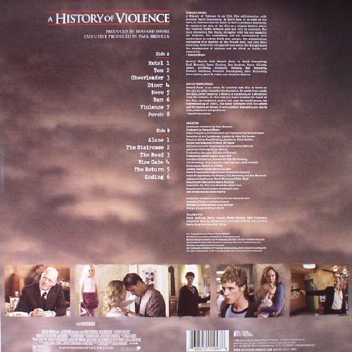 SHORE, Howard - A History Of Violence (Soundtrack)