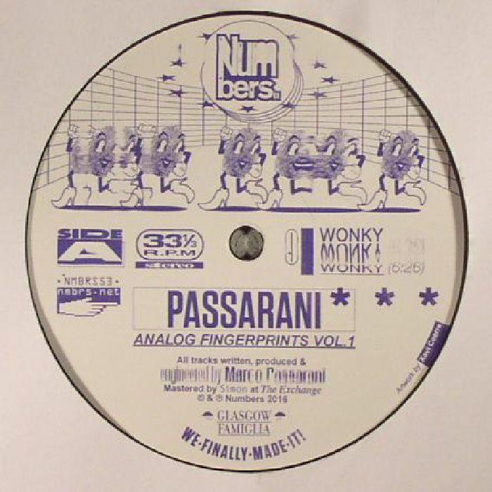 Marco Passarani Passarani Analog Fingerprints Vol 1