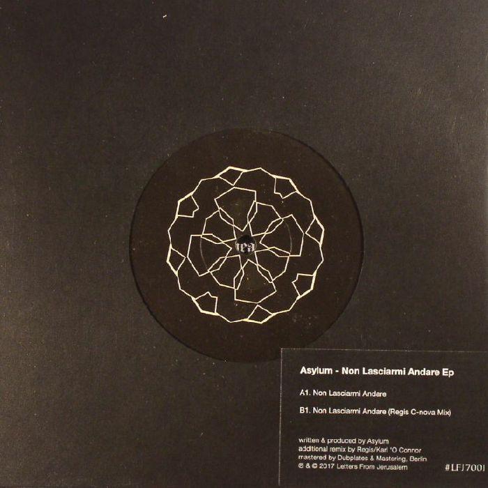 ASYLUM - Non Lasciarmi Andare EP