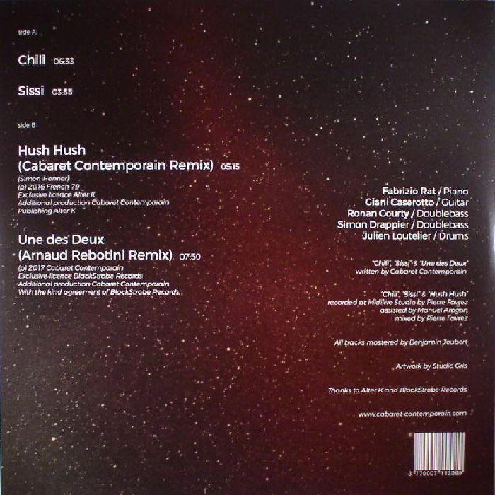 CABARET CONTEMPORAIN - Satellite EP