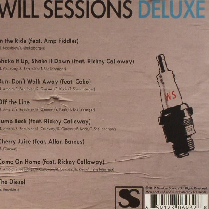 SESSIONS, Will - Deluxe