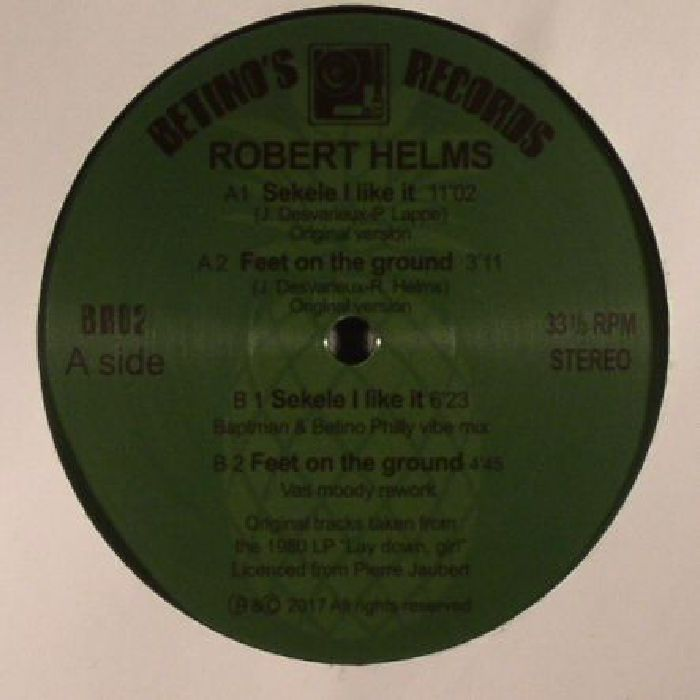 HELMS, Robert - Sekele I Like It