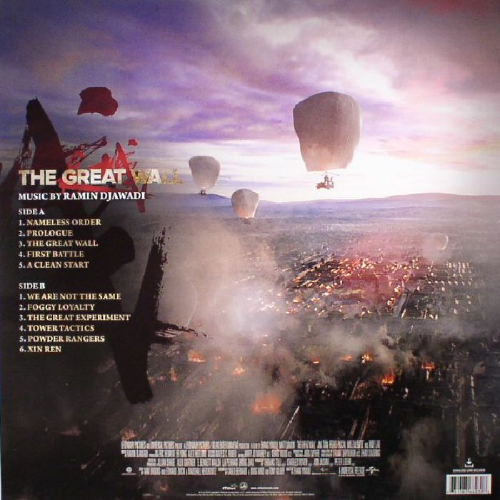 DJAWADI, Ramin - The Great Wall (Soundtrack)