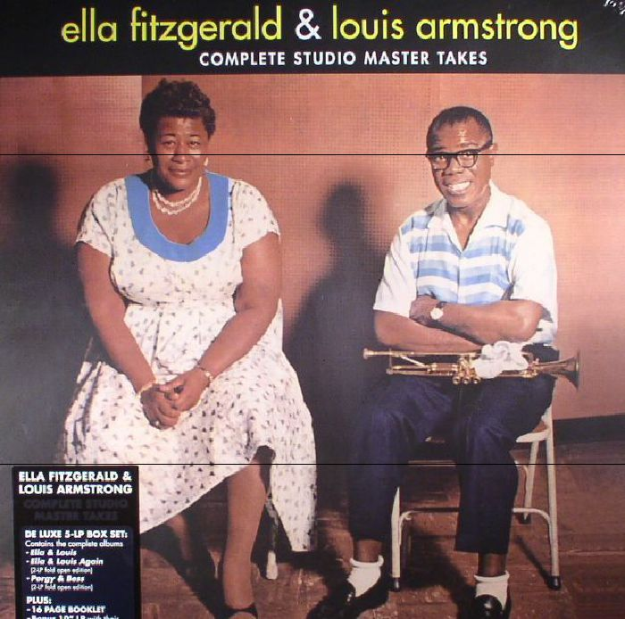 FITZGERALD, Ella/LOUIS ARMSTRONG - Complete Studio Master Takes