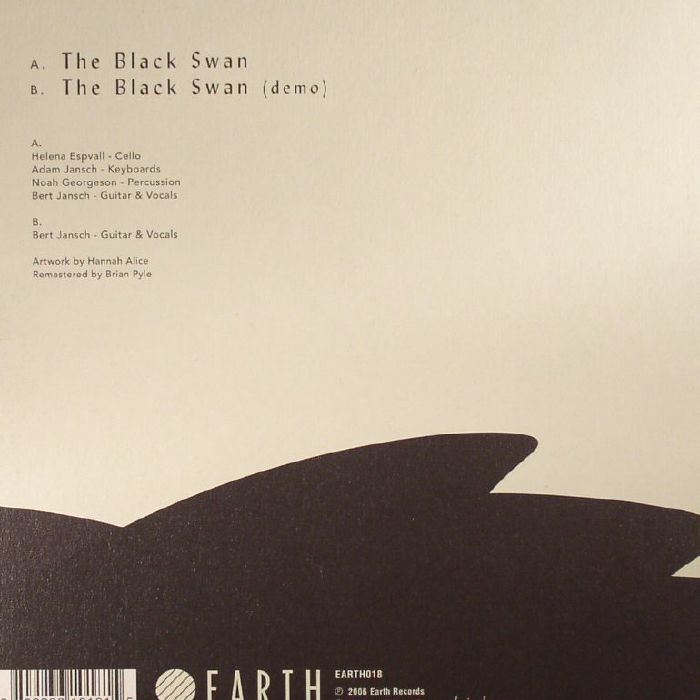 JANSCH, Bert - The Black Swan (Record Store Day 2017)
