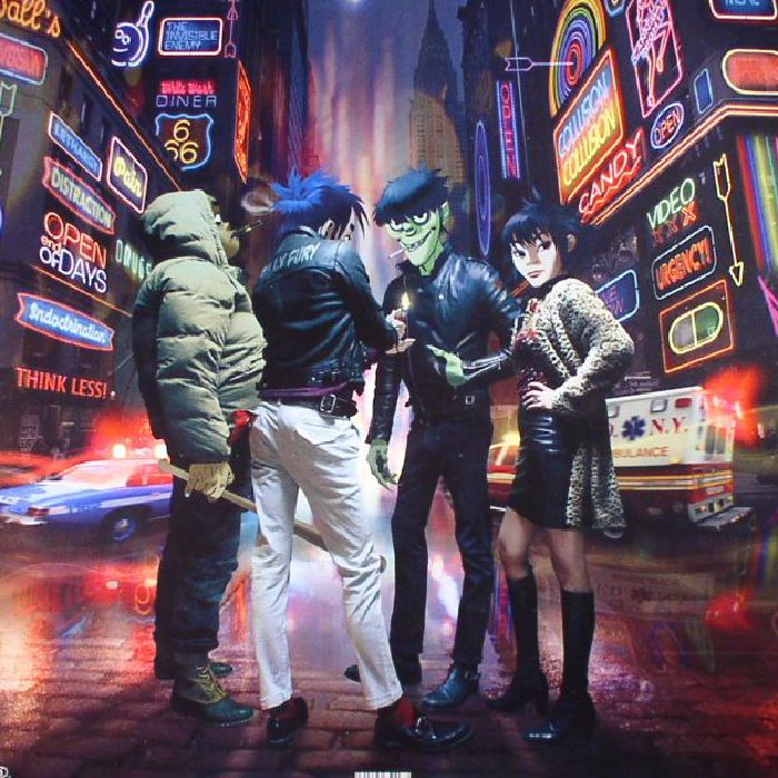Gorillaz Humanz Deluxe Edition Vinyl At Juno Records