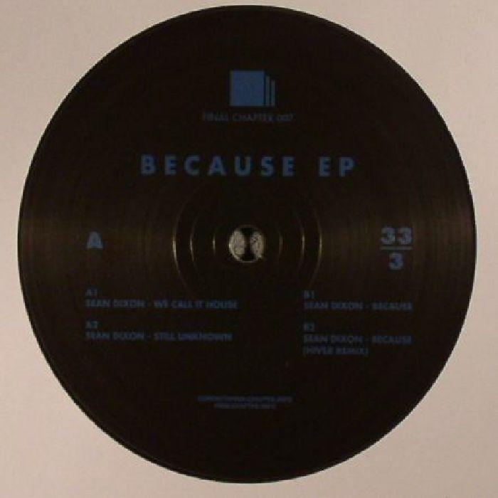 DIXON, Sean - Because EP