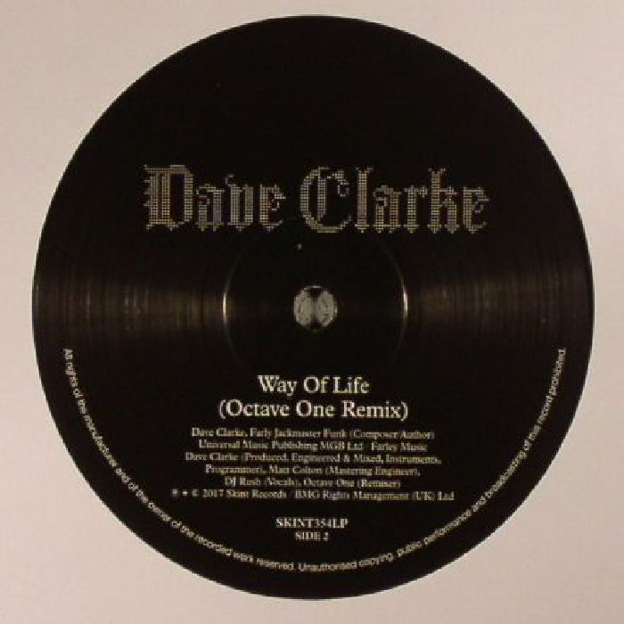 CLARKE, Dave - The Wolf/Way Of Life (remixes) (Record Store Day 2017)