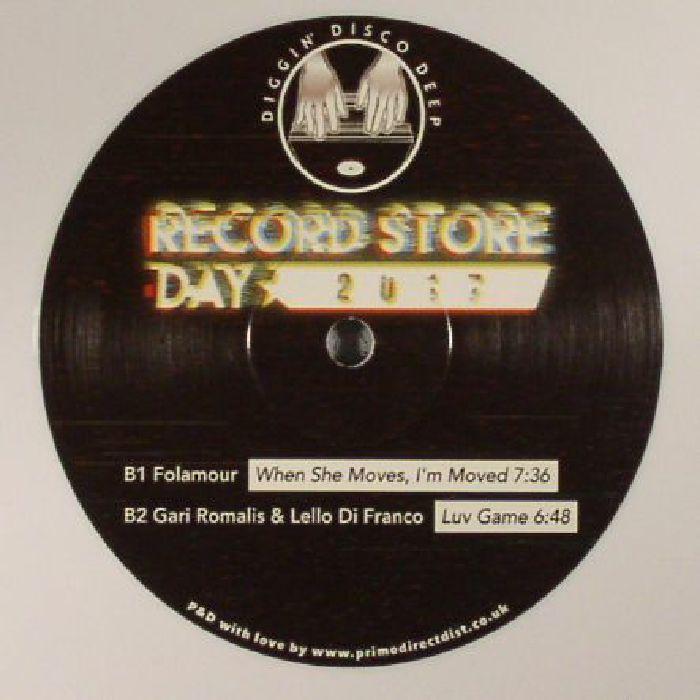 LIPSKI/THE SILVER RIDER/FOLAMOUR/GARI ROMALIS/LELLO DI FRANCO - Diggin' Disco Deep #5 (Record Store Day 2017)