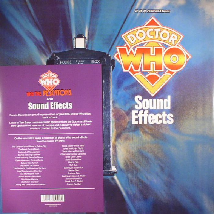 DOCTOR WHO - Doctor Who & The Pescatons/Doctor Who Sound Effects No 19