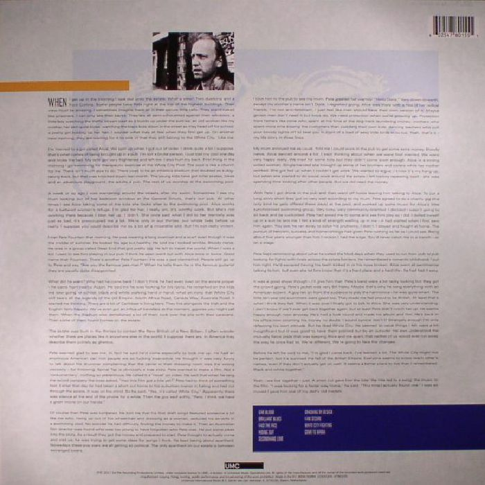 TOWNSHEND, Pete - White City: A Novel  (half speed remastered) (reissue)