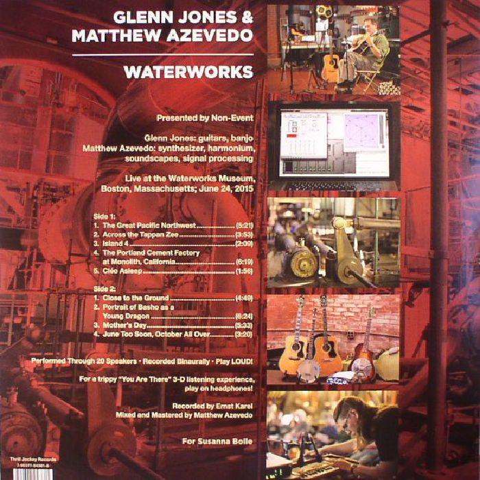 JONES, Glenn/MATTHEW AZEVEDO - Waterworks (Record Store Day 2017)